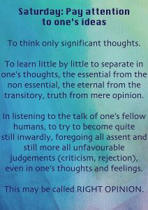 text about right thinking