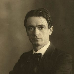 Photographic portrait of Rudolf Steiner circa 1905
